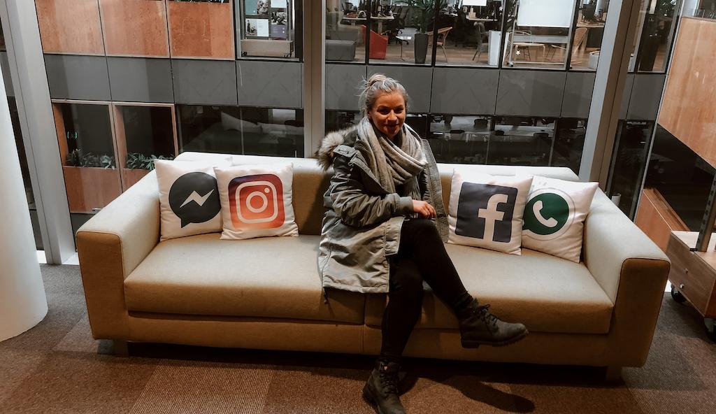 Lena Draffehn bei Facebook in Dublin